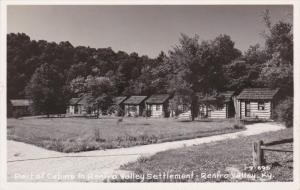 RP, RENFRO VALLEY, Kentucky, 1920-1940s; Part Of Cabins In Renfro Valley Sett...