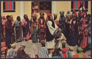 Jesus,Blind Man,Black Hills Passion Play,SD Postcard