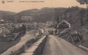 La Roche-en-Ardenne , Belgium , 00-10s ; La ville vue de la montagne Dester