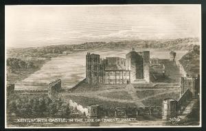 Kenilworth Castle in Queen Elizabeth's time T C Series UK