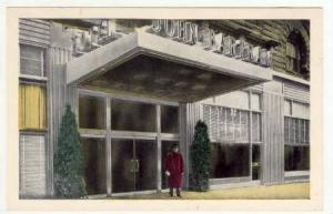 Doorman at John Bartram Hotel, Broad Street at Locust, Philidelphia, Pennsylv...