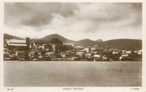 Sierra Leone - FREETOWN - View from the harbour