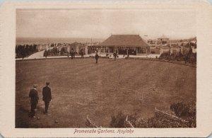 Lawn Bowling Promenade Gardens Hoylake Wirral Unused Valentine's Postcard G60
