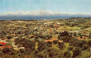 California, Santa Barbara, from vantage point, Alameda Padre Serra