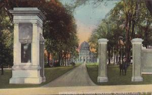 Entrance to Union College, Schenectady,  New York, 00-10s