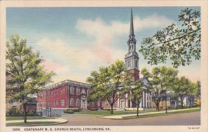 Centenary M E Church South Lynchburg Virginia