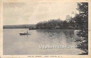 Lake Saint Dominic - Saint Josephs, New York