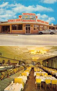 Virginia Beach Virginia multi-views Neptune's Restaurant vintage pc ZA440371