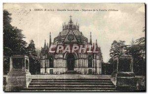 Old Postcard Dreux Chapelle Saint Louis Sepulture of Famile d Orleans