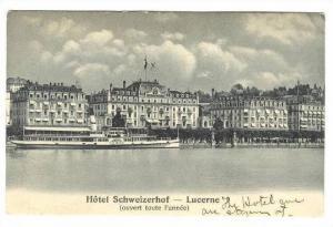 Hotel Schweizerhof - Lucerne, Switzerland, 00-10s