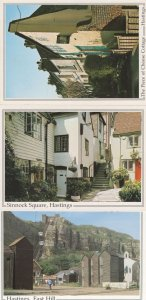 Piece Of Cheese Cottage Hastings Sussex 3x Postcard s