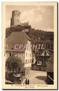 Old Postcard Kaysersberg Old Quarter