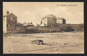 Blackness Castle Falkirk Scotland unused c1920's