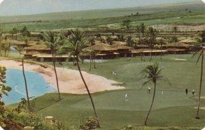 Royal Kaanapali Golf Course , 1st Green , Royal Lahaina Beach , Hawaii , 50-60s