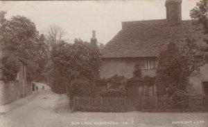 RP: HARPENDEN , Hertfordshire , England ,1919 ; Sun Lane