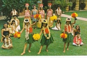 Hawaii Maui Napili Bay Hula Show Cast At Napili Kai Beach Club Hotel
