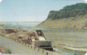 Wyoming Boysen Dam and Reservoir On The Wind River
