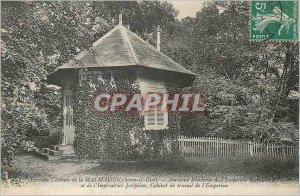 Postcard Old Park Chateau de Malmaison (Seine et Oise) Former Residence of th...