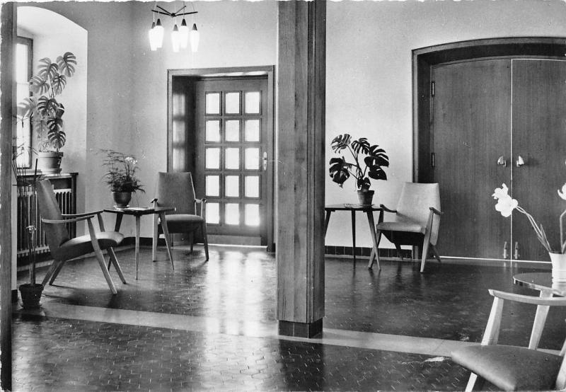 Le Hall De La Maison b56165 goersdorf la maison de l eglise le hall france / hippostcard
