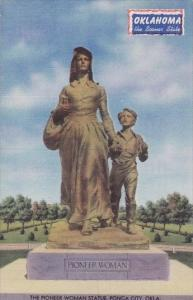 Oklahoma Ponca City The Pioneer Woman Statue 1943