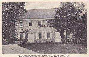 Pennsylvania Sliver Spring Presbyterian Church Albertype