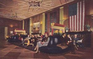 Illinois Chicago Bismarck Hotel Randolph At La Salle