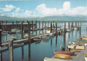 Small Fishing Boats, Docks at Comox, Comox-Courtenay District, Vancouver Isla...