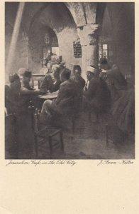 JERUSALEM , Israel , 00-10s ; Cafe in the old city , interior