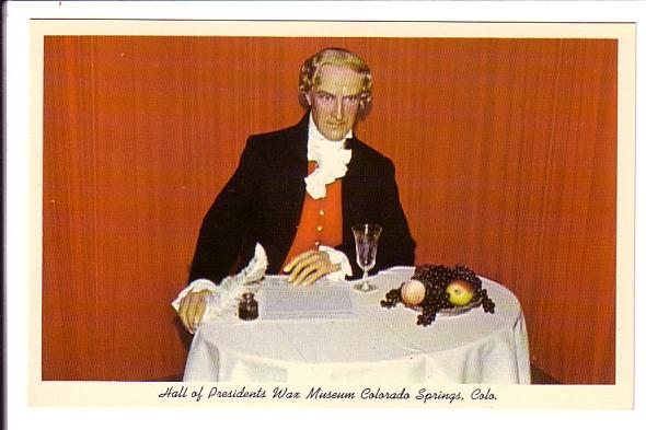 Jefferson Sighing the Declaration of Independance, Hall of Presidents Wax Mu...