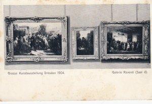 DRESDEN, Saxony, Germany, 1904 ; Grosse Kunstausstellung , Galerie Ravene (sa...