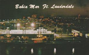 Bahia Mar, Nighttime Beauty, Swimming Pool Hall of Fame, Fort Lauderdale, Flo...