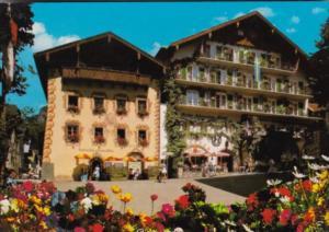 Austria St Wolfgang Salzkammergut Alte Buergerhaeuser