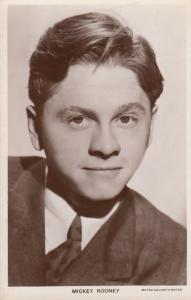 Mickey Rooney Picturegoer 1950s Vintage Photo Postcard