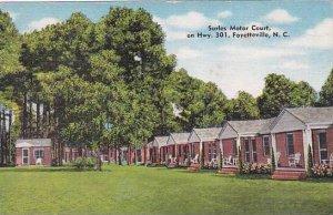 North Carolina Fayetteville Surles Motor Court Albertype