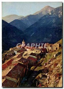 Modern Postcard The French Riviera miracle of nature The area around Menton A...
