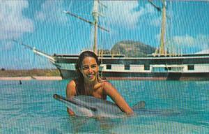 Hawaii Oahu Lovely Puanani & Porpoise At Sea Life Park