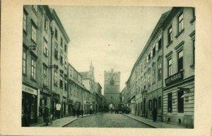 czech germany, IGLAU JIHLAVA, Frauengasse mit Frauentor (1920s) Postcard