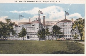 NIAGARA FALLS, New York, 1910-20s; Home of Shredded Wheat