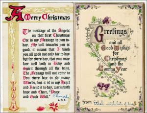 Xmas - 2 - Christmas Cards (1Tuck's)