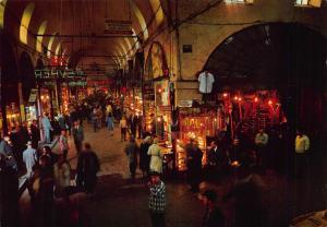 Turkey Kapali Carsi Covered Grand Bazaar Instanbul Postcard
