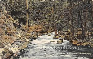A Mountain Scene Wurtsboro NY 1910
