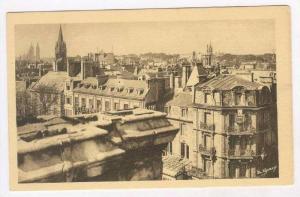 Panoramic View-Abbey Of Men & The St. Saviour Church, Caen (Calvados), France...