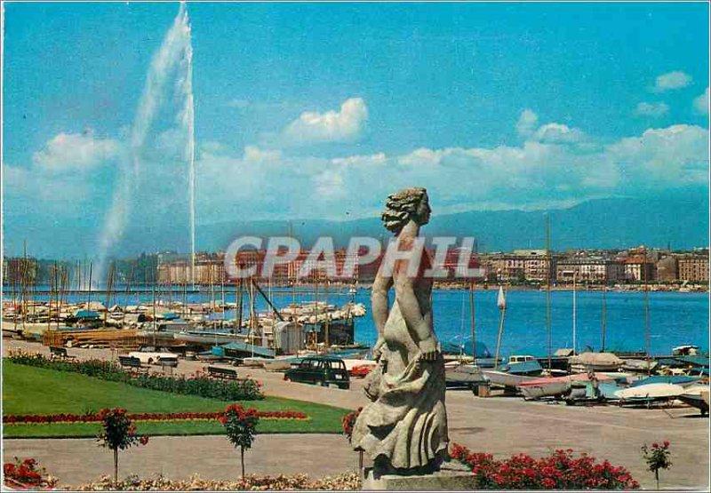 Modern Postcard Geneve La Bise