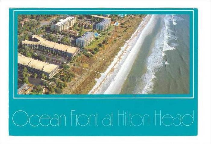 Ocean Front at Hilton Head Island, South Carolina, PU-1992