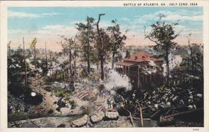 Civil War Battle Of Atlanta Georgia July 22nd 1864 Curteich