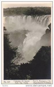 RP, Salto San Martin, Cataratas Del Iguazu, 1920-1940s