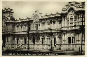 costa rica, SAN JOSE, Post Office Building (1930s) RPPC
