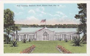 Boat Landing, Seminole Hotel, Winter Park, Florida, 00-10s