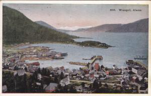 Bird's Eye View, WRANGELL, Alaska, 1910-1920s
