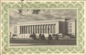 Buenos Aires Argentina Philatelic Exposition Used 1956 Postcard Cover #2